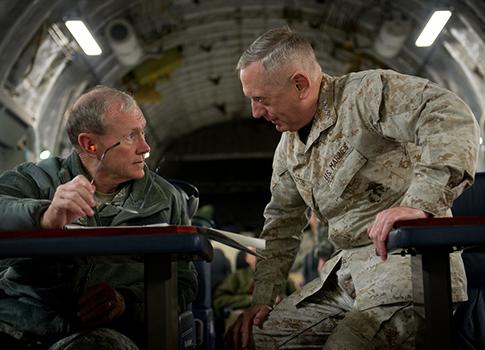 Gen. Mattis and Gen. Dempsey / Flickr
